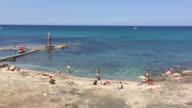 The city beach at Portopalo di Capo Passero, Sicily