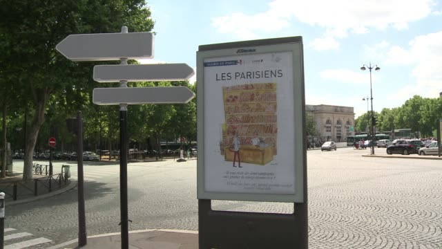 The city of Paris has handed over information billboards for a summer exhibition that pokes fun at the quirky side of Parisians CLEAN Paris outdoor...