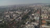 The city of Porto Alegre extends to a distant horizon.