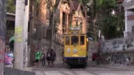 The city of Rio de Janeiro hopes works on the picturesque Santa Teresa streetcar will be done before the start of the 2016 Olympics for tourists and...