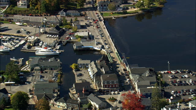 the Clam Shack  - Aerial View - Maine,  York County,  United States