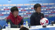 The coach of Japanese club Kashima Antlers gave a press conference Saturday the day before the Club World Cup final which will see them face off...
