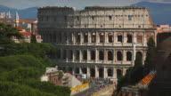 The Coliseum of Rome from Vittorio Emanuele Monument terrace