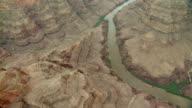 The Colorado River meanders through the Grand Canyon.