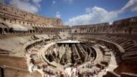 The Colosseum interior, Rome, Italy