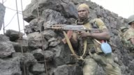 The Congolese army on Wednesday stepped up an offensive against M23 rebels in the countrys volatile east shelling positions north of the flashpoint...
