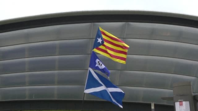 The crackdown in Catalonia looms large over the Scottish National Party's annual conference that opens Sunday where the leadership is under pressure...