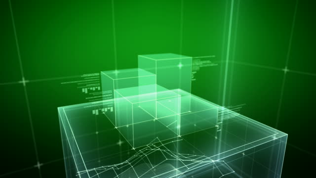 the Cube - green