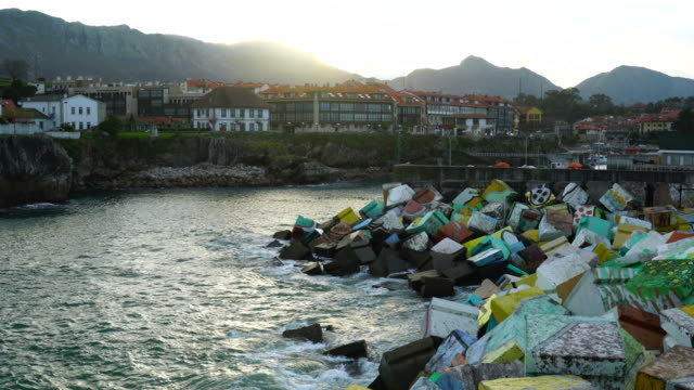The cubes of Memory in Llanes