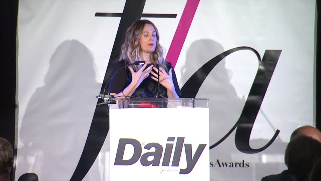 CHYRON The Daily Front Row Presents First Annual Fashion Los Angeles Awards in Los Angeles CA