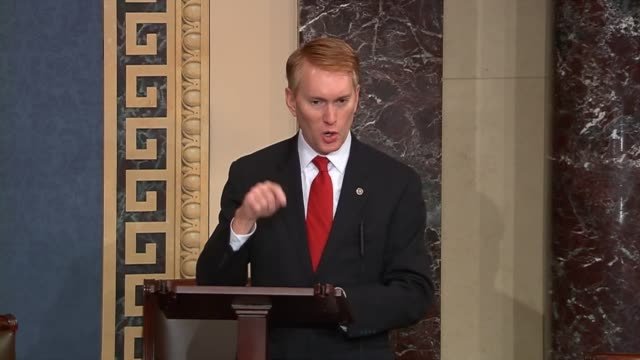 The day of the release of the President's fiscal 2017 budget Oklahoma Senator James Lankford remarks on the $41 trillion proposal saying it is no big...