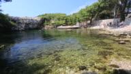The Dead Sea on Lokrum Island, Adriatic Sea, Dalmatia Coast, Croatia.