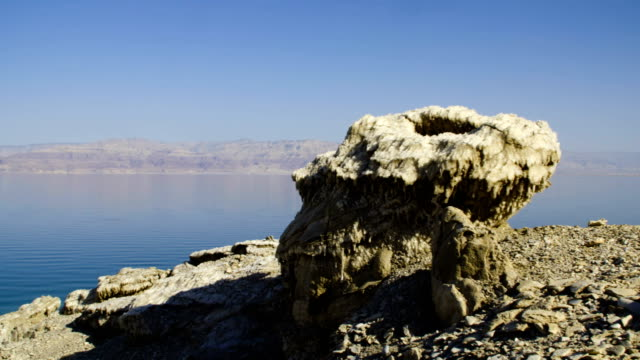 The Dead Sea- the lowest place on earth, Judean desert Israel
