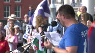 The debate over independence here has ignited national pride in other parts of the UK Hundreds of people gathered in Cardiff today to back the 'Yes'...