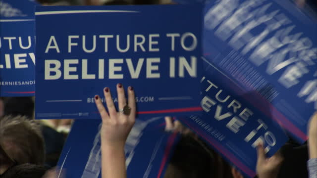 The democratic frontrunner Hilary Clinton has also been fighting off a challenge from an outsider in the form of avowed socialist Bernie Sanders In...