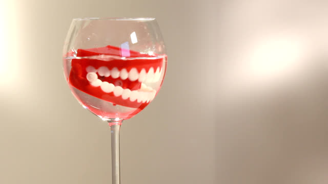 the denture hygiene is very important!