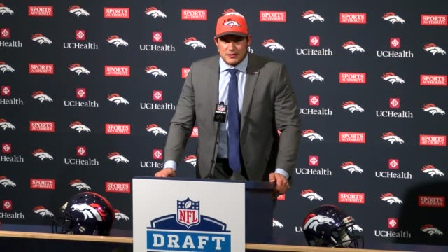 The Denver Broncos drafted defensive lineman Adam Gotsis of Australia in the 2nd round of the NFL draft and the Georgia Tech product was introduced...