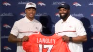 The Denver Broncos selected defensive back Brendan Langley at the third round of the NFL Draft and the standout from Lamar said at an introductory...