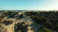 The desert is vast