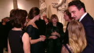 The Duchess of Cambridge talks to Anna Wintour at a charity event at the Metropolitan Museum of Art New York