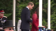 The Duke and Duchess of Cambridge enjoy sampling Scotland's national drink while on a visit to the couple's earldom of Strathearn Shows exterior...