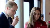 The Duke and Duchess of Cambridge have been drinking whisky while on a visit to Scotland Shows interior shots of the Duke and Duchess of Cambridge...