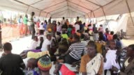 The Dzaipi refugee camp in Uganda has been swamped by thousands of refugees fleeing fighting just over the border in South Sudan and aid workers say...