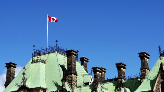 The East Block of Canada's Parliament Buildings