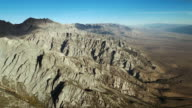 The Eastern Sierra Nevada mountains rise out of the Owens Valley.