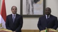 The Egyptian President Abdel Fattah al Sisi arrives in Gabon a stop on his African tour which will take him to Chad Tanzania and Rwanda with economic...