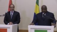 The Egyptian President Abdel Fattah al Sisi visits Gabon one of the stops on his African tour which will take him to Chad Tanzania and Rwanda with...