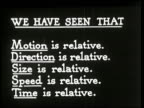 The Einstein Theory of Relativity - 16 of 29