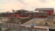 The elementary school under construction in Toyonaka Osaka Prefecture The school being built by nationalistic school operator Moritomo Gakuen on land...