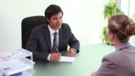 The end of a job interview