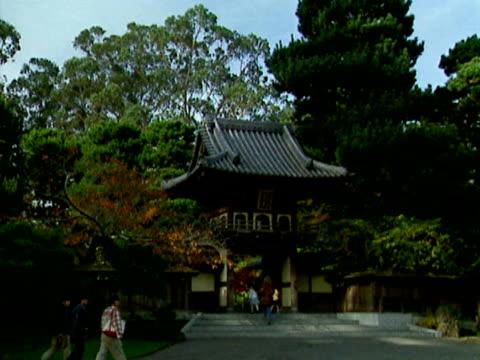 The entrance to the Japanese Tea Garden