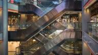 The escalators in bangkok