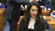 The European Court of Human Rights on Wednesday began hearing arguments in the case of a Turkish citizen who was convicted in Switzerland for denying...