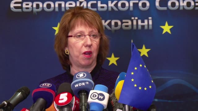 The European Union's foreign policy chief Catherine Ashton said on Wednedsay that Brussels was ready to provide support for Ukraine's constitutional...