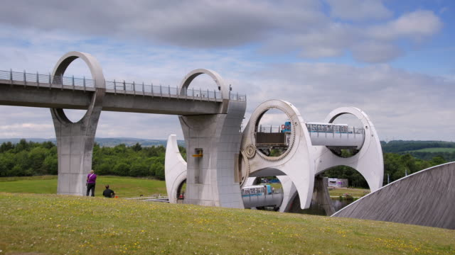 The Falkirk wheel Scotland