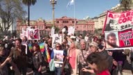 The family of Santiago Maldonado a missing Argentine activist for indigenous rights accuse the judge in charge of the case of inaction during a...
