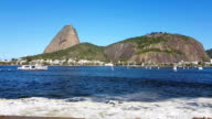 The famous Sugarloaf in Rio de Janeiro