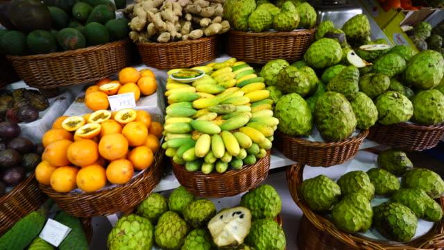 The Farmer's Market in Funchal City