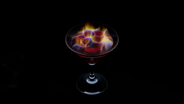 The fiery drink