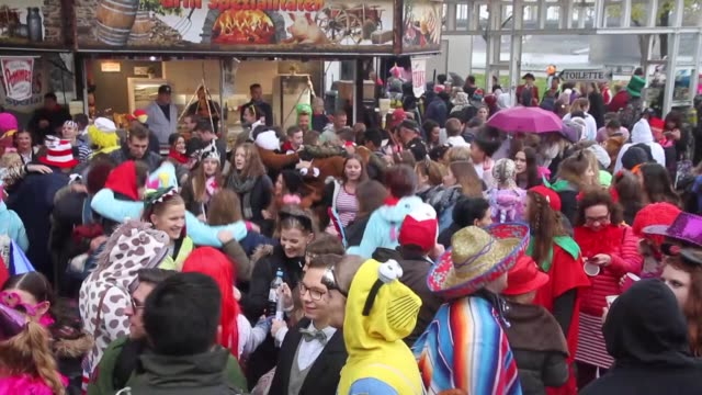 The 'fifth season' as it's known locally takes over the city of Cologne with the biggest parties on November 11 2017 Revelers typically dress up in...