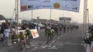 The first Democratic Republic of Congo cycling tour ends as French cyclist Mederic Clain wins the yellow jersey CLEAN Frenchman wins the first Congo...