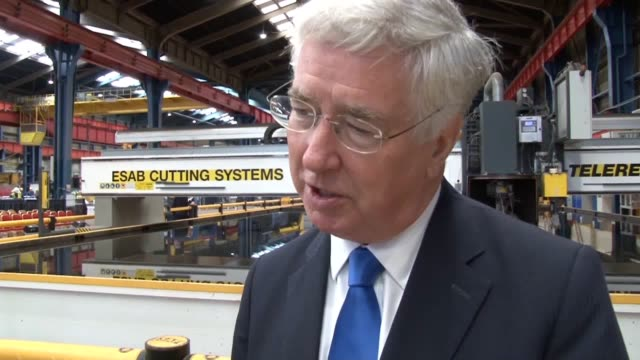 The first warship in a new fleet of Royal Navy frigates will be called HMS Glasgow the Defence Secretary has announced Sir Michael Fallon revealed...