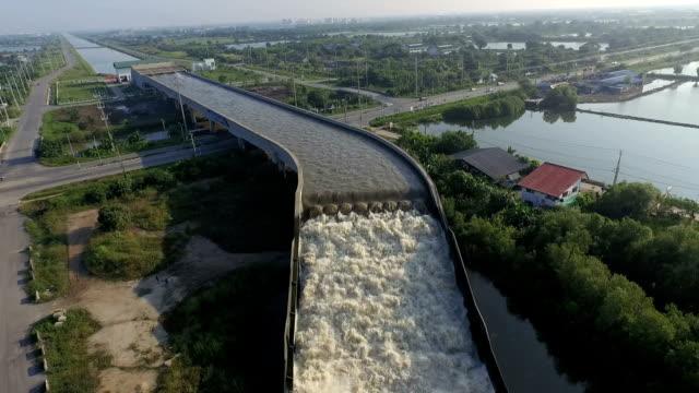 The first water bridge in Thailand.