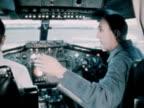 The flight crew of Concorde 001 prepare the craft for its maiden flight 1969