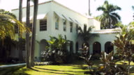The former home of Al Capone on March 18 2015 in Miami Beach Florida The home being restored by MB America was built in 1922 and bought by the...