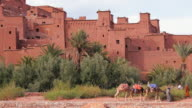 The Fortified town of Ait Benhaddou, nr Quarzazate, High Atlas Mountains, Morocco, Africa